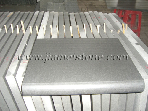 andesite pool copings, grey basalt  pool copings