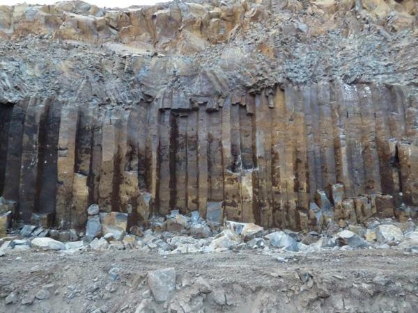 Basalt Columns Hexagonal Natural Polygonal Basalt Column