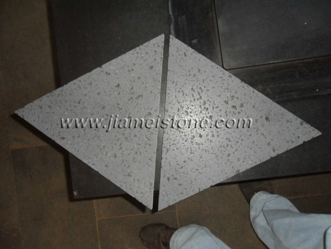 lava stone triangle shape tiles