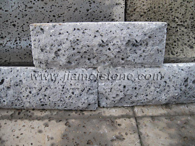 Tumbled Pavers Lava Stone Mushroom Tiles Rock Face