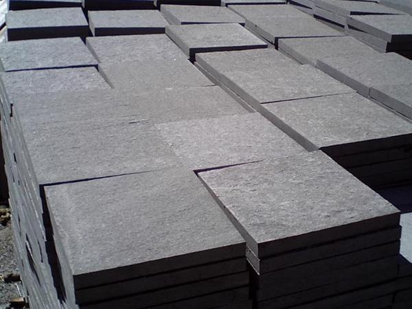 Mongolian Black Granite Stone Basalt Marble Tiles Slabs