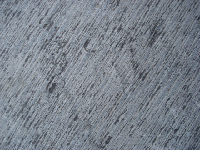 blue limestone chiselled