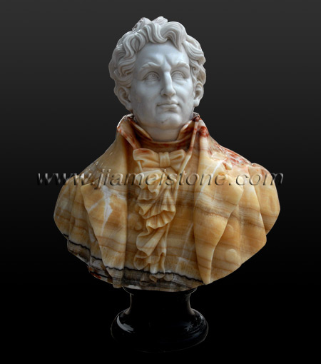 Beethoven marble bust