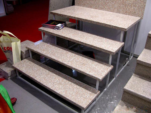 Exceptional G687 Granite Stair Treads