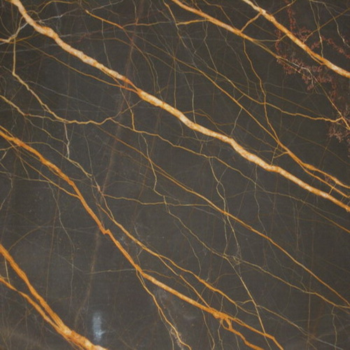 Golden Brown Marble Golden Thread Luolan Roland Marble
