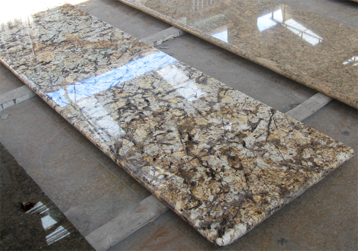 Crystal White granite countertop