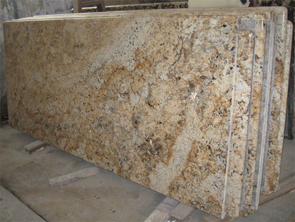 Yellow Granite Stone : Crystal yellow granite kitchen countertop bathroom vanity