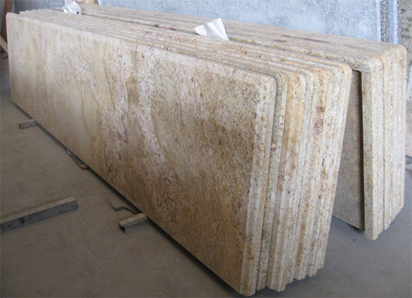 Golden King granite countertop