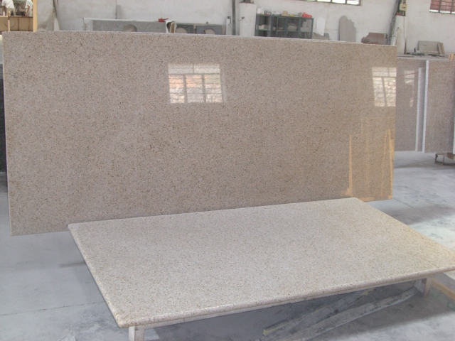 Golden Sand granite countertop