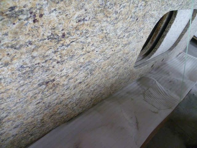 Santa Cecilia Dark granite countertop