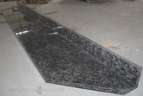 saphire brown granite countertops