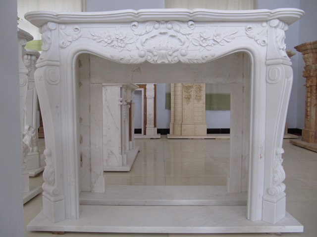 Factory direct supplier of  marble fireplace