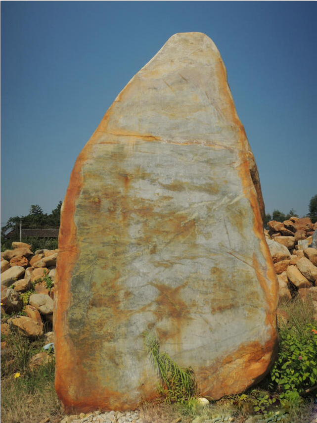 Landscape Rock With Engraving : Large landscape boulders garden rocks engraving