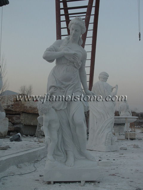 large outdoor statues