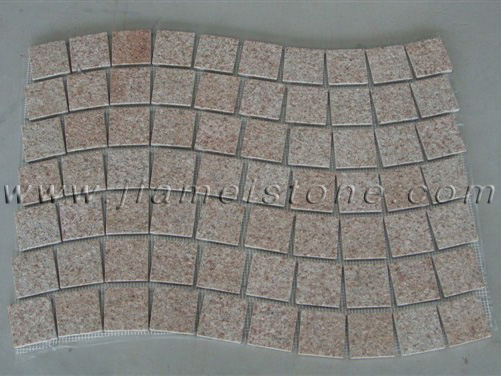 mesh backed pavers