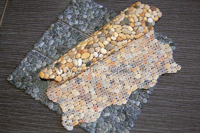 Mesh Pebble Tiles