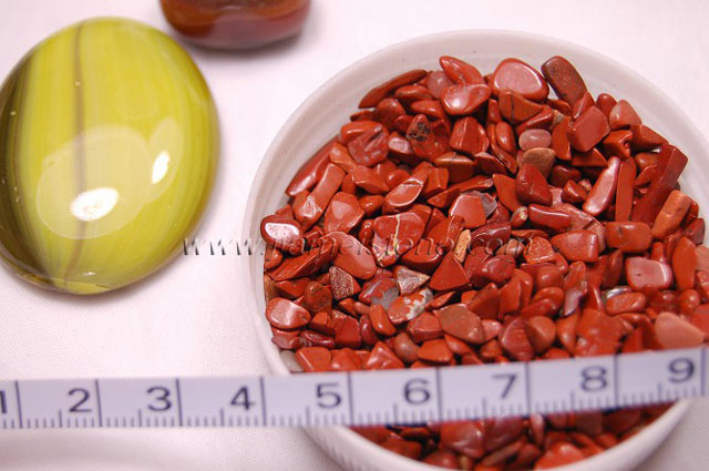 tibet red pebbles