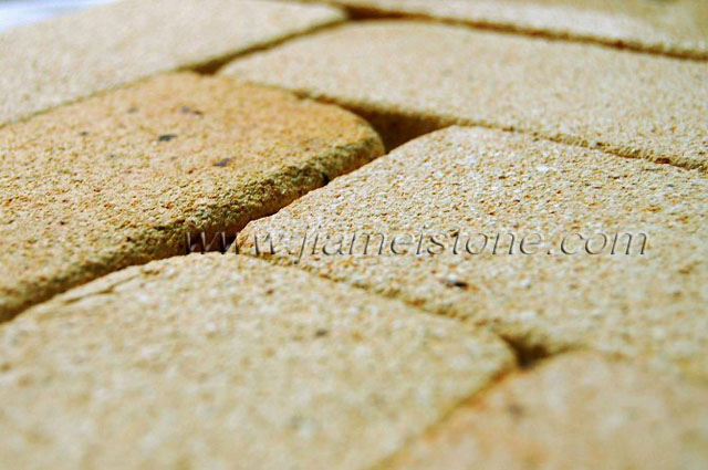 tumbled wall bricks