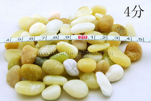 yellow pebbles