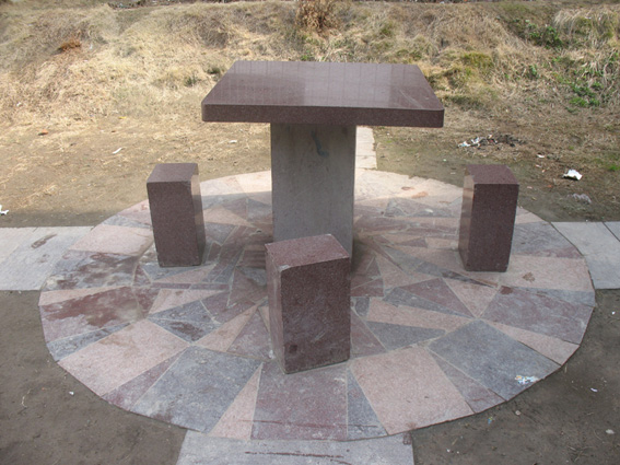 porphyry table top