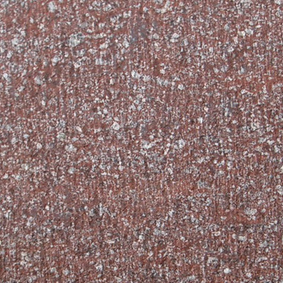 red porphyry chiseled, red porfido