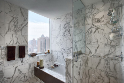 G682; Marble Shower Wall Tiles